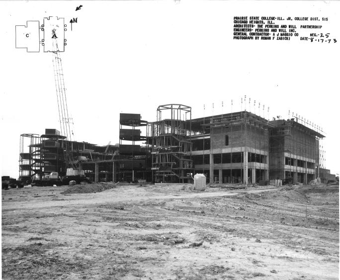 Main Campus Construction Photos